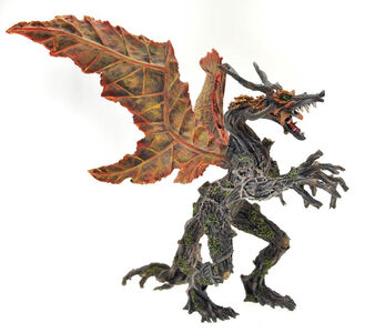 Giocattolo Dragons. Drago autunno Plastoy