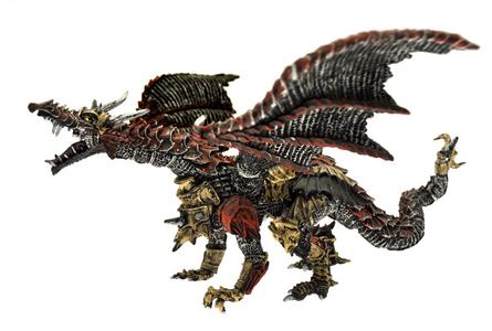 Giocattolo Dragons. Drago di metallo Plastoy 0