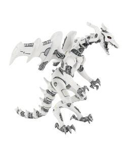Dragons. Drago robot bianco