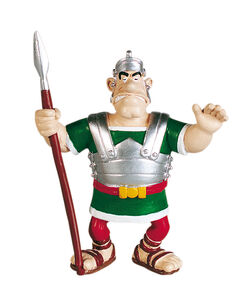 Giocattolo Asterix. Legionario con lancia Plastoy