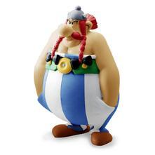 Plastoy 60568. Asterix. Miniature Obelix Mani In Tasca