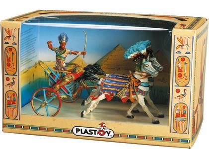 Giocattolo Egitto: il Carro di Ramses II Plastoy 0