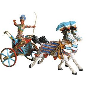 Giocattolo Egitto: il Carro di Ramses II Plastoy 1