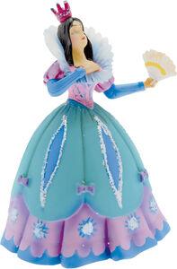 Giocattolo C'era una Volta: Principessa con Ventaglio, Vestito Blu Plastoy