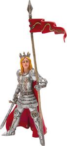 Giocattolo C'era una Volta: La Reine en Armure Plastoy