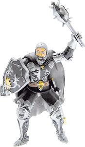 Giocattolo Cavalieri: il Cavaliere Nero e Argento Plastoy