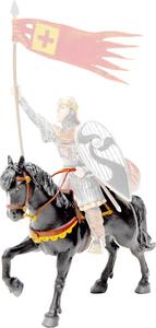 Giocattolo Cavalieri: Cavallo di Guglielmo il Conquistatore Plastoy 0
