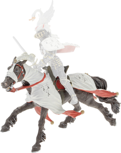 Giocattolo Cavalieri: Cavallo del Ducadi Bretagna Plastoy 0