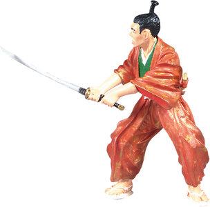 Giocattolo Samurai. Le Samourai Kimono Plastoy