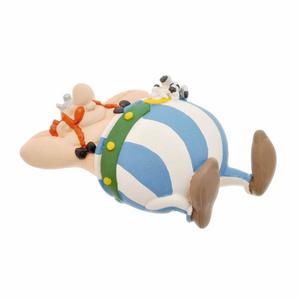 Giocattolo Asterix. Calamita Obelix Siesta Plastoy