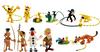 Giocattolo Tubo Marsupilami con 12 Personaggi Plastoy 0