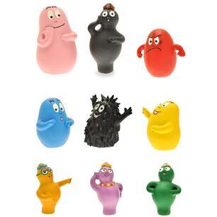 Barbapapa Tubo Personaggi Espressioni 9 Figure Plastoy