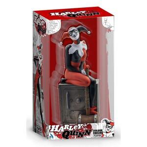 Plastoy 80058 - Dc Comics - Money Box Harley Quinn On The Safe