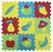 Giocattolo Tappeto Puzzle Frutta 9 Pezzi Ludi 0
