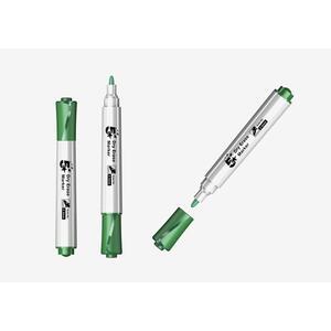 Marcatore per lavagne bianche 5 Star punta tonda 1-3 mm verde. Confezione 12 pezzi