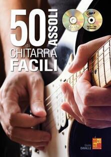 50 Assoli di chitarra facili + CD MP3 + DVD - copertina
