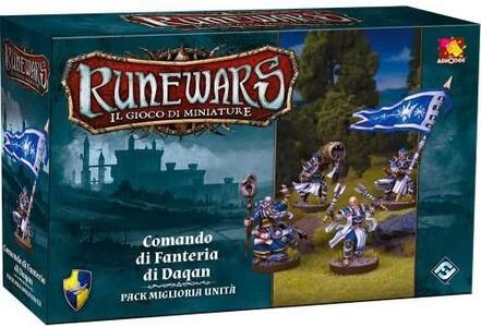 Runewars. Comando di Fanteria di Daqan