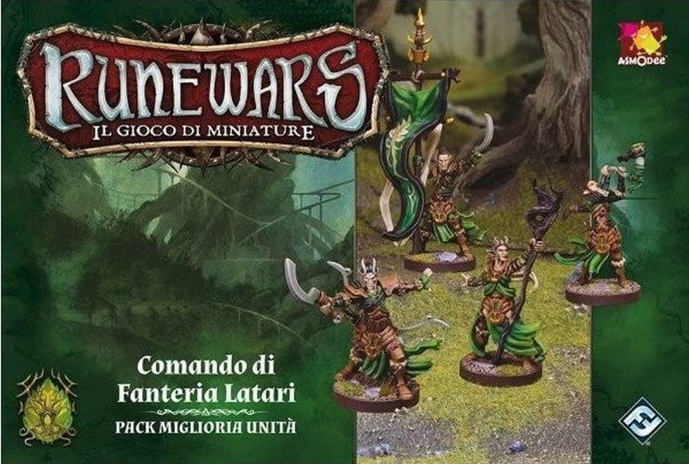 Image of Runewars. Il Gioco di Miniature. Comando di Fanteria Latari. Gioco da tavolo