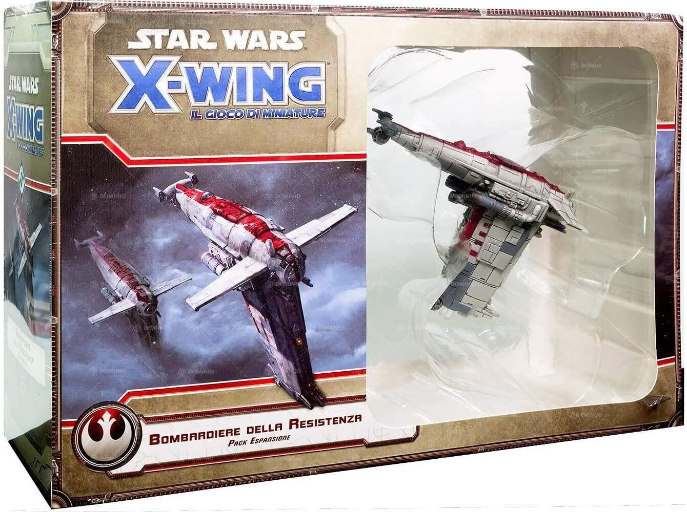 Image of Star Wars X-Wing. Il Gioco di Miniature. Bombardiere della Resistenza. Gioco da tavolo