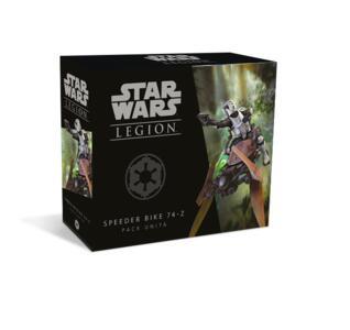 Star Wars: Legion. Pack Unità Speeder Bike 74-Z