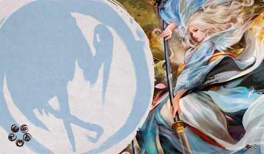 La Leggenda Dei Cinque Anelli. La Signora Dei Cinque Venti (Playmat)