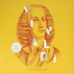 I capolavori - Vinile LP di Antonio Vivaldi,Carlo Maria Giulini