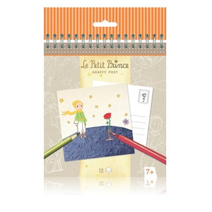 Giocattolo Carnet per la colorazione Il Piccolo Principe Avenue Mandarine 1