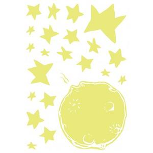 Idee regalo Stickers murali, Medium Il Piccolo Principe Avenue Mandarine 2