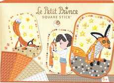 Giocattolo Boite créative, Square Stick Il Piccolo Principe Avenue Mandarine
