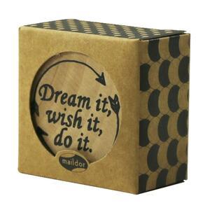 Timbro in legno Pop' Stamp. Dream It, Wish It, Do It - 2
