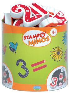 Giocattolo Stampo Minos. Numeri AladinE 0