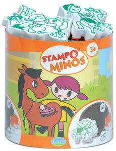 Giocattolo Stampo Minos. Cavalli AladinE 0