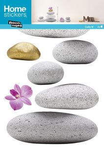 Idee regalo Sticker decoro murale Zen Stone Nouvelles Images