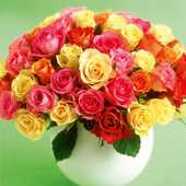 Cartoleria Biglietto d'auguri Michael-Bouquet De Roses Sin Adesso