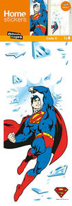 Sticker decoro murale Licenza Finestre Superman