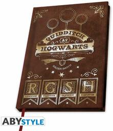 Quaderno Harry Potter: Quidditch