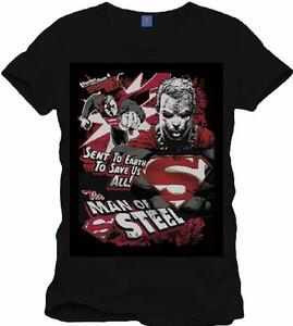 T-Shirt uomo Superman. Man of Steel