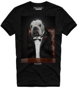 T-Shirt uomo Pet Rocks. Dog Father