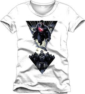 T-Shirt uomo Superman. Man of Steel Krypton Force