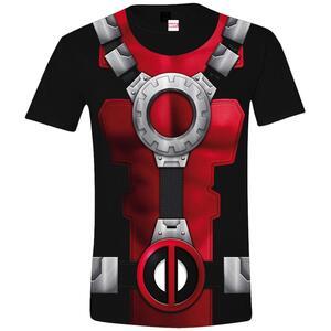 T-Shirt unisex Deadpool. Costume Black