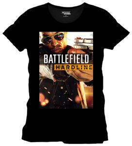 T-Shirt uomo Battlefield Hardline. Basic Poster Black