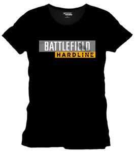 T-Shirt uomo Battlefield Hardline. Hardline Logo Black