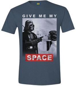 T-Shirt unisex Star Wars. Give Me My Space Blue Melange