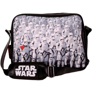 Cartoleria Borsa tracolla Star Wars. The Force Awakens. Trooper Army Messenger Bag Black TimeCity