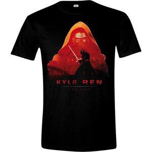 T-Shirt Unisex Star Wars. The Force Awakens. Kylo Ren Cover Black