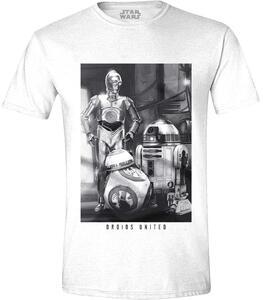 T-Shirt unisex Star Wars. The Force Awakens. Aroids United White
