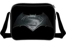 d07520590c Borsa a Tracolla Batman v Superman. Steel Print Logo