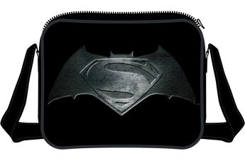 Cartoleria Borsa a Tracolla Batman v Superman. Steel Print Logo TimeCity