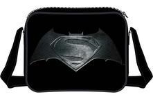 Borsa a Tracolla Batman v Superman. Steel Print Logo