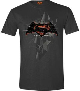 T-Shirt unisex Batman v Superman. Cubic Logo